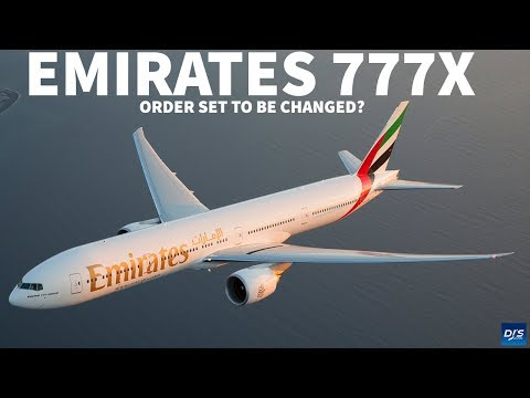 Emirates To Change Boeing 777X Order?