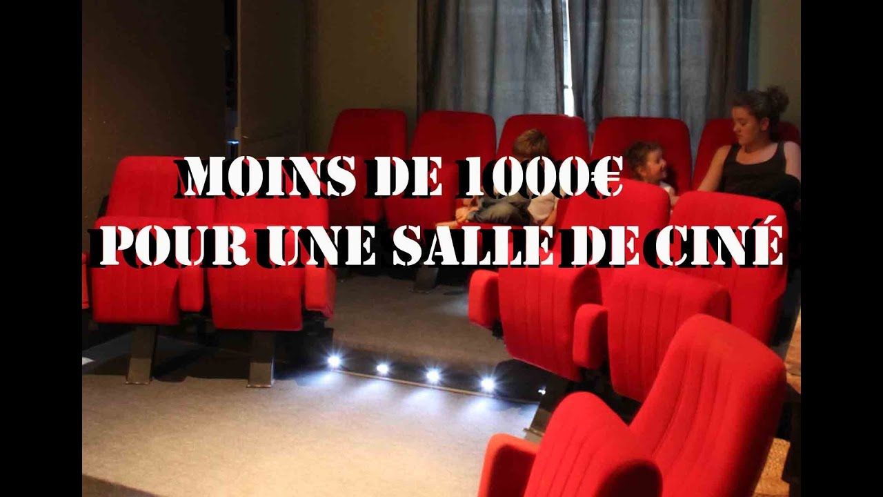 2 week ends et 1000 pour votre salle de cin youtube. Black Bedroom Furniture Sets. Home Design Ideas