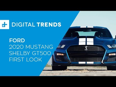 Ford Mustang Shelby GT - First Look at Detroit Auto Show