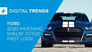 2020 Ford Mustang Shelby GT500 - First Look at Detroit Auto Show 2019