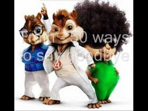 Train  50 ways to say good e  Alvin and the Chipmunks Versi