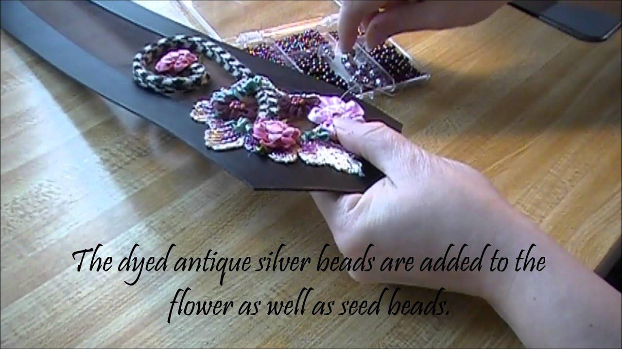 Silk Ribbon Embroidery Youtube