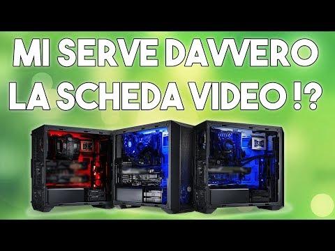 PUOI USARE IL PC SENZA SCHEDA VIDEO !? - COME SI GIOCA E SI EDITA SENZA