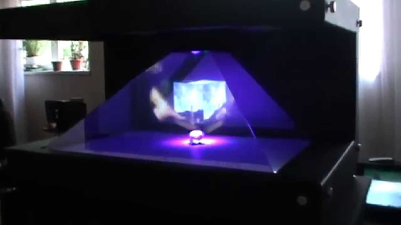 схема голографического экрана своими руками
