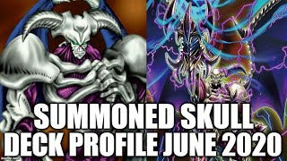 Gambar cover SUMMONED SKULL DECK PROFILE (JUNE 2020) YUGIOH!