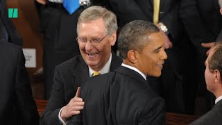 Mitch McConnell Brags About Blocking Barack Obama