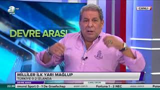 Erman Toroğlu Türkiye 0-3 İzlanda Maçı Yorumları 6 Ekim 2017