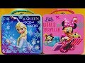 Disney Frozen Elsa Lunch Box with Surprise Toys Kinder Egg Lol Lil Siters Baby Doll Moj Moj Squishy