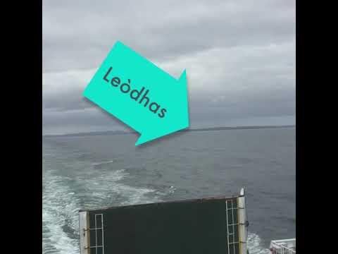 A' seòladh à Leòdhas - sailing from Lewis