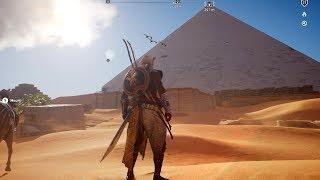Assassin's Creed: Origins - Giza - Open World Free Roam Gameplay (PC HD) [1080p60FPS]