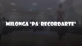 Milonga Pa Recordarte -  Cuarteto Mulenga + Aye Alvarez Miño e Ivan Romero