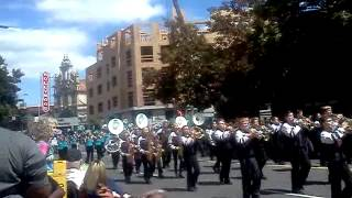 Covington middle school band jr. Rose parade 2012