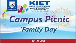 'FAMILY DAY' @ KIET Campus   A Day Dedicated to KIET Family