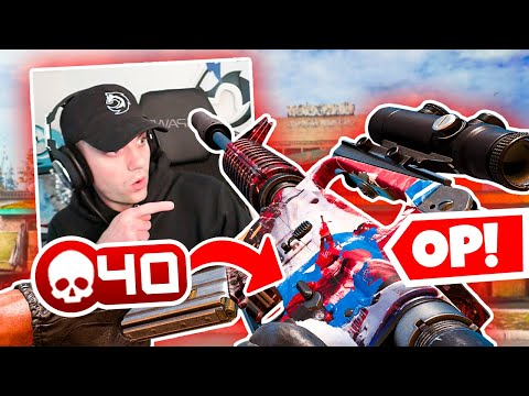 I Dropped 40 Kills with THIS OP M16 Class! 🤯 (Call of Duty Warzone)