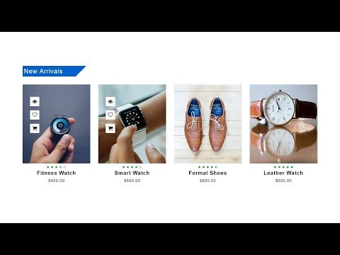 How To Make Ecommerce Website Product Section Using HTML CSS Bootstrap