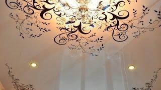Натяжные потолки с рисунком, компания