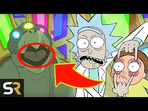 The Best Rick And Morty Season 3 Easter Eggs (SO FAR)