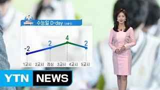 [날씨] 내일 수능 한파, 서울 체감 -9℃...황사도…