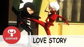 Потрясающий мультфильм о любви сбивающей с ног!