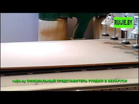 Фрезерный станок с автоматической подачей материала ч.1