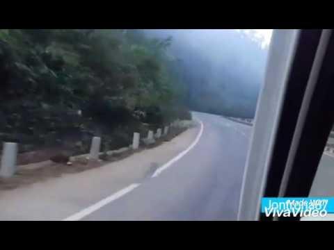 Way to Shillong from Guwahati, India