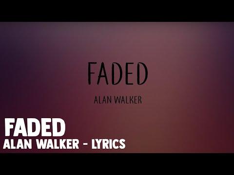 Faded - Alan Walker - Lyrics