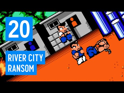 CHECK THAT FLANK — Let's Play River City Ransom Part 20 #BADATGAMES 090