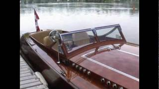 Wooden Boat, 29' Clarion Fast Launch