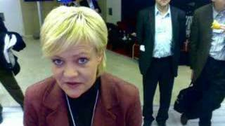Kristin Halvorsen, Norwegian Finance Minister in Davos