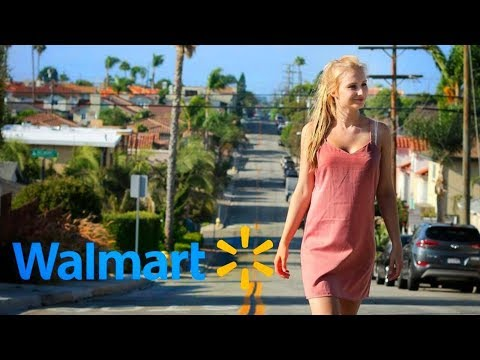 GERMAN GIRL first time at WALMART / Travelling to Los Angeles