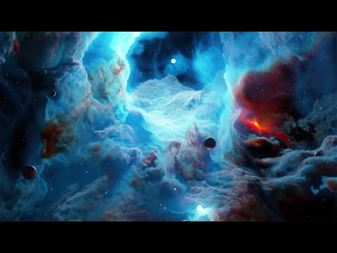🔴 Space Ambient Music 24/7 - Relaxing Space Music for Sleep, Meditation