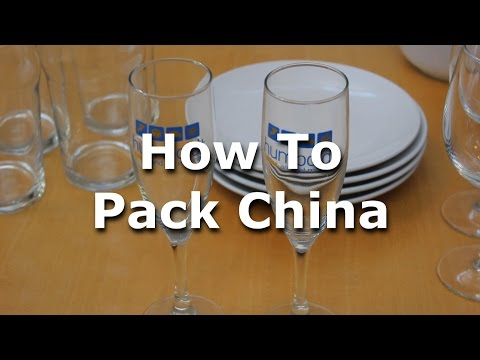 How To Pack China In Boxes-Humboldt Storage And Moving