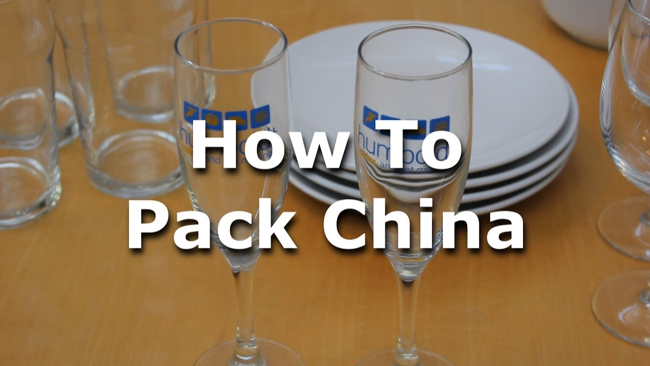 How To Pack China In Boxes Humboldt Storage And Moving