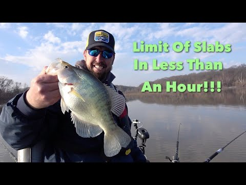 Catch A Limit Of Slab Crappie In Less Than An Hour!