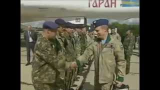 الرئيس الروسي بوتين يقود القاصفة الستراتيجية تو 160 ويقصف اهداف بصواريخ 3M-14TE