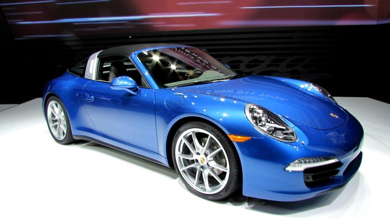 2015 Porsche 911 Targa 4 Exterior And Interior