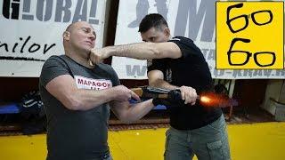Защита от угроз огнестрельным оружием и обезоруживание с Егором Чудиновским (feat. Андрей Вершинин)