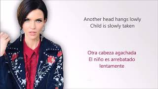 ruby rose - zombie ( lyrics )