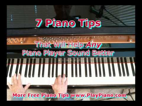 Piano Tips That Will Make Any Piano Player Sound Better!