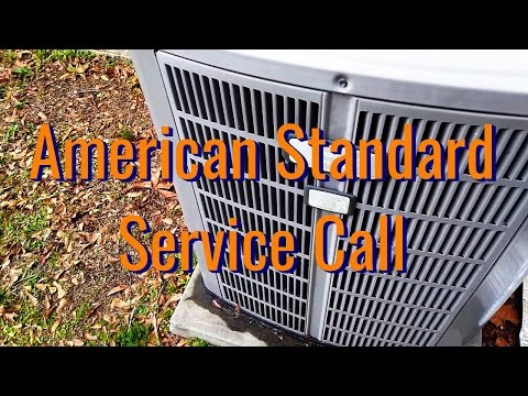 American Standard Heat Pump | Service And Test Defrost