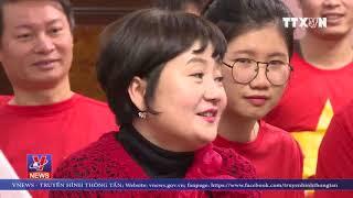 """""""Bà xã"""" HLV Park Hang-seo: Tuyển U23 Việt Nam hãy mang cup về"""