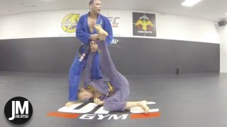 Ricco Rodriguez demonstrates an Armlock vs Turtle