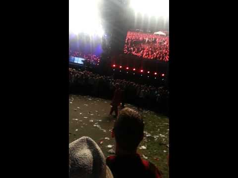 Green Day pinkpop 2013 american idiot Pit
