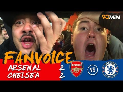 Bellerin late volley cancels Hazard and Alonso goals! I Arsenal 2-2 Chelsea I 90min Fanvoice