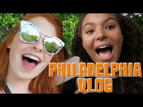 Philadelphia Vacation Vlog, Holiday in Philly, USA   NiliPOD
