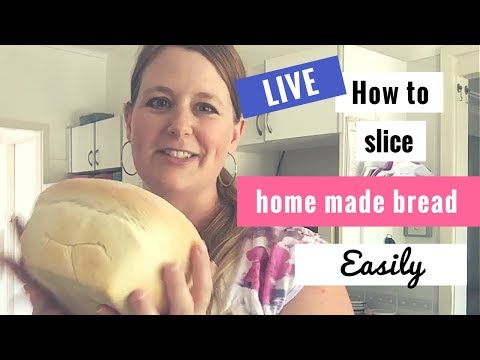 How To Slice Home Made Bread Evenly (and Easily)