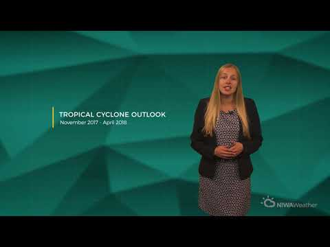 Tropical Cyclone Outlook - November 2017 - April 2018