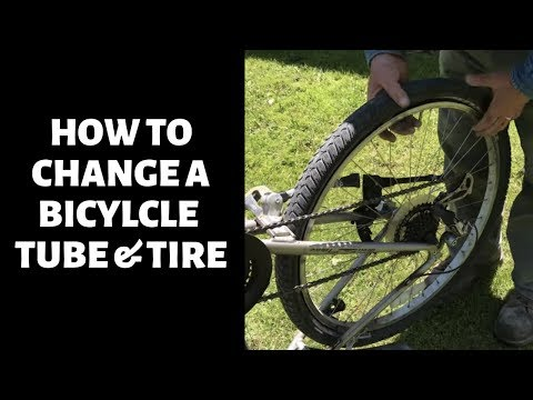 How to Replace a Bicycle Tube & Tire in 10 Minutes - Bailey Line Life #22