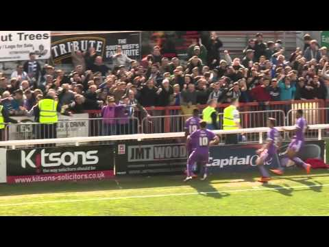 Exeter City 2 -1 Plymouth Argyle (2/4/16) Sky Bet League 2 Highlights 2015/16