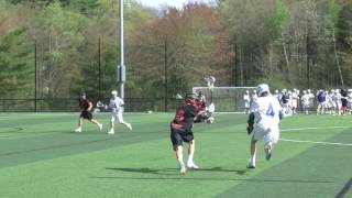 Acton Boxborough Varsity Boys Lacrosse vs Wayland 5/4/17